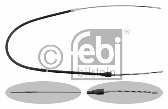 Tirette à câble, frein de stationnement - FEBI BILSTEIN - 30765