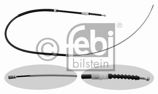 Tirette à câble, frein de stationnement - FEBI BILSTEIN - 30766
