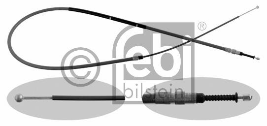 Tirette à câble, frein de stationnement - FEBI BILSTEIN - 31147
