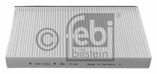 Filtre, air de l'habitacle - FEBI BILSTEIN - 31167
