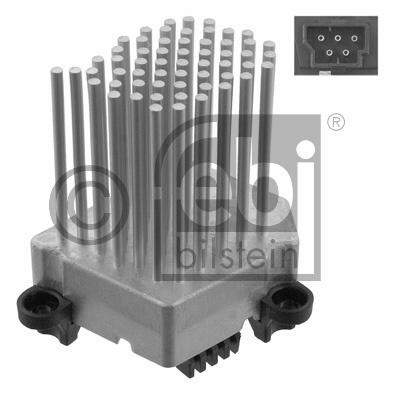 Appareil de commande, chauffage/ventilation - FEBI BILSTEIN - 31966