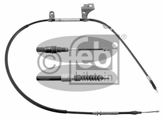 Tirette à câble, frein de stationnement - FEBI BILSTEIN - 32464