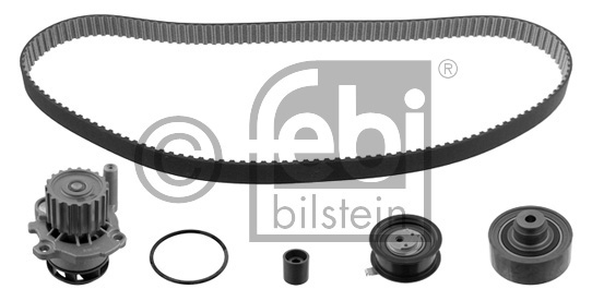 Pompe à eau + kit de courroie de distribution - FEBI BILSTEIN - 32743