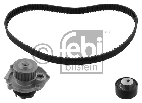 Pompe à eau + kit de courroie de distribution - FEBI BILSTEIN - 32745