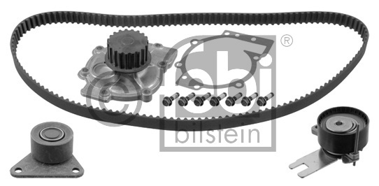 Pompe à eau + kit de courroie de distribution - FEBI BILSTEIN - 32747