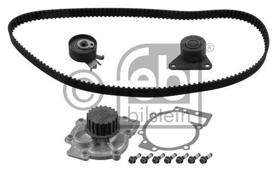 Pompe à eau + kit de courroie de distribution - FEBI BILSTEIN - 32813