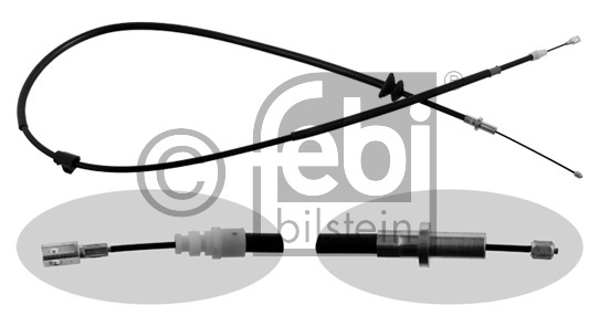 Tirette à câble, frein de stationnement - FEBI BILSTEIN - 33159