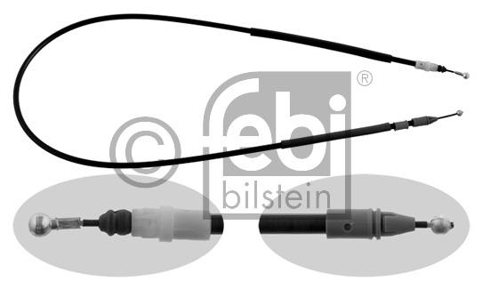 Tirette à câble, frein de stationnement - FEBI BILSTEIN - 33168