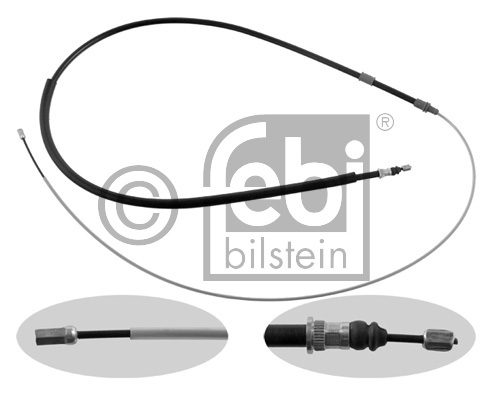 Tirette à câble, frein de stationnement - FEBI BILSTEIN - 33207