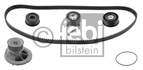 Pompe à eau + kit de courroie de distribution - FEBI BILSTEIN - 33828