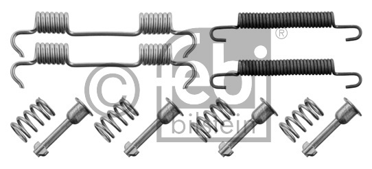 Kit d'accessoires, mâchoire de frein - FEBI BILSTEIN - 34156