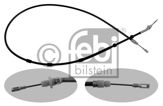 Tirette à câble, frein de stationnement - FEBI BILSTEIN - 34394