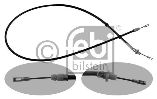 Tirette à câble, frein de stationnement - FEBI BILSTEIN - 34395