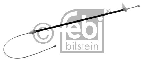 Tirette à câble, frein de stationnement - FEBI BILSTEIN - 34396