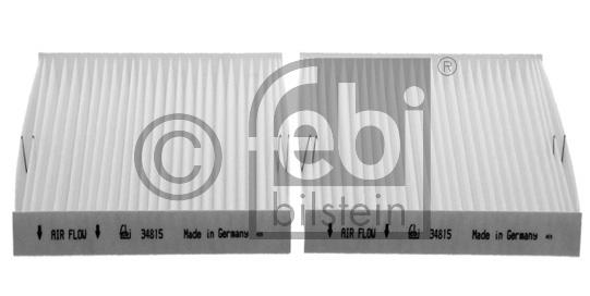 Filtre, air de l'habitacle - FEBI BILSTEIN - 34815
