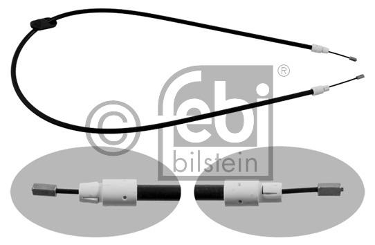 Tirette à câble, frein de stationnement - FEBI BILSTEIN - 34904