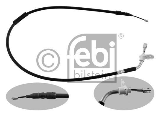 Tirette à câble, frein de stationnement - FEBI BILSTEIN - 34909