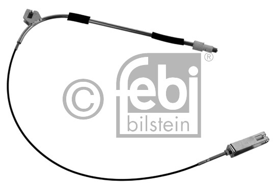 Tirette à câble, frein de stationnement - FEBI BILSTEIN - 34910