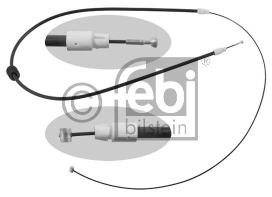 Tirette à câble, frein de stationnement - FEBI BILSTEIN - 34915