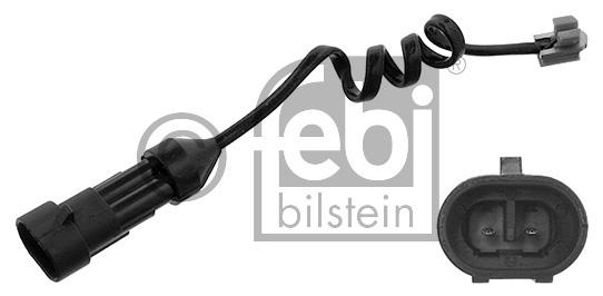 Contact d'avertissement, usure des garnitures de frein - FEBI BILSTEIN - 35450