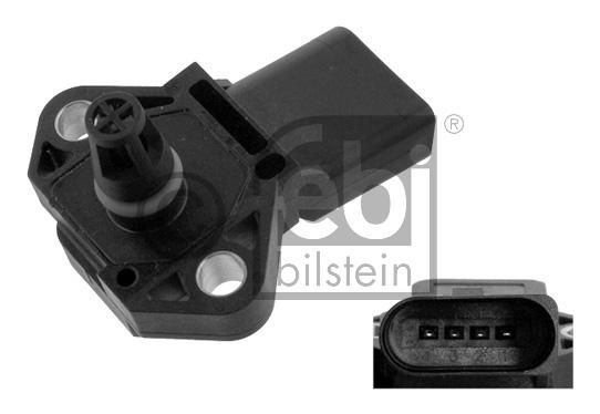 Capteur, pression de suralimentation - FEBI BILSTEIN - 36116