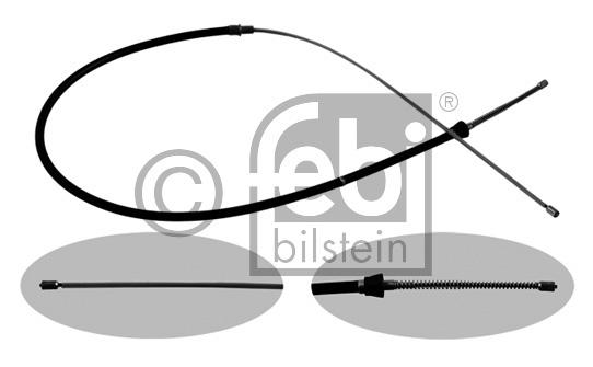 Tirette à câble, frein de stationnement - FEBI BILSTEIN - 36348