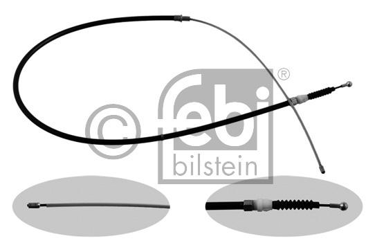 Tirette à câble, frein de stationnement - FEBI BILSTEIN - 36349