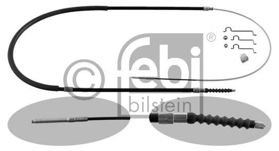 Tirette à câble, frein de stationnement - FEBI BILSTEIN - 36673