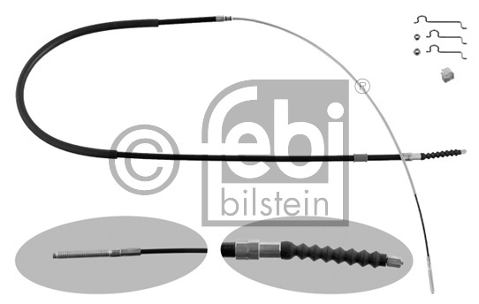 Tirette à câble, frein de stationnement - FEBI BILSTEIN - 36674