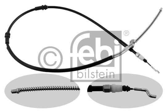 Tirette à câble, frein de stationnement - FEBI BILSTEIN - 36712