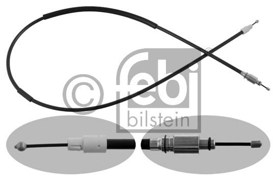 Tirette à câble, frein de stationnement - FEBI BILSTEIN - 36935