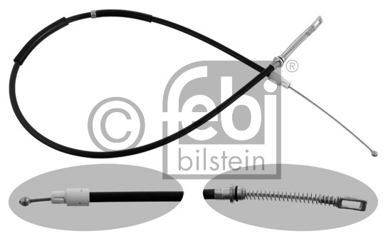 Tirette à câble, frein de stationnement - FEBI BILSTEIN - 36936