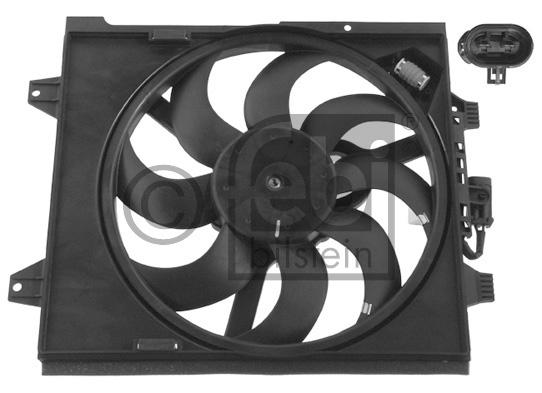 Ventilateur, refroidissement du moteur - FEBI BILSTEIN - 37167