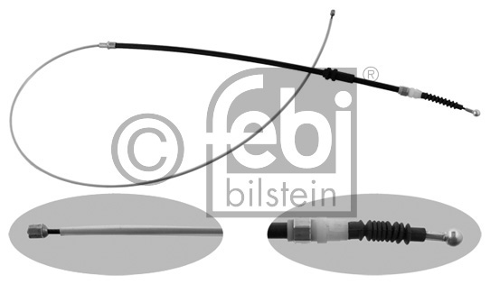 Tirette à câble, frein de stationnement - FEBI BILSTEIN - 37218