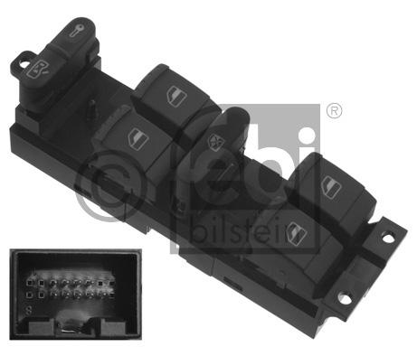 Interrupteur, lève-vitre - FEBI BILSTEIN - 37644
