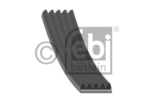 Courroie trapézoïdale à nervures - FEBI BILSTEIN - 38242