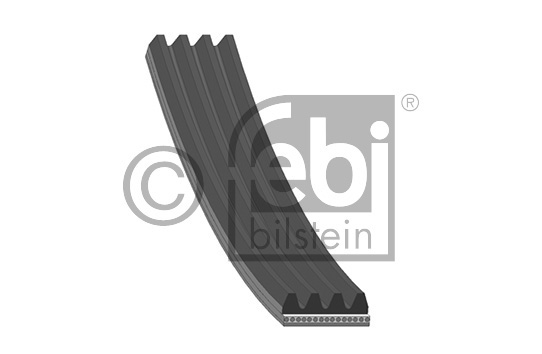 Courroie trapézoïdale à nervures - FEBI BILSTEIN - 38442