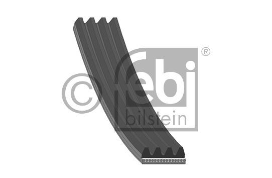 Courroie trapézoïdale à nervures - FEBI BILSTEIN - 38444