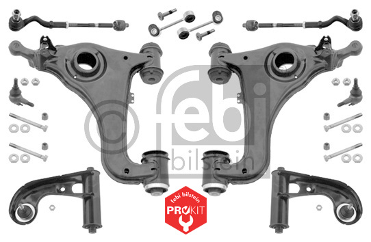 Kit de réparation, suspension de roue - FEBI BILSTEIN - 38498