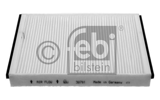 Filtre, air de l'habitacle - FEBI BILSTEIN - 38781