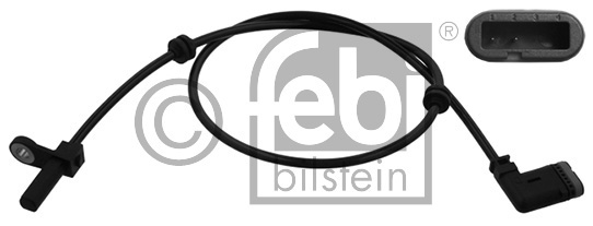 Capteur, vitesse de roue - FEBI BILSTEIN - 39479