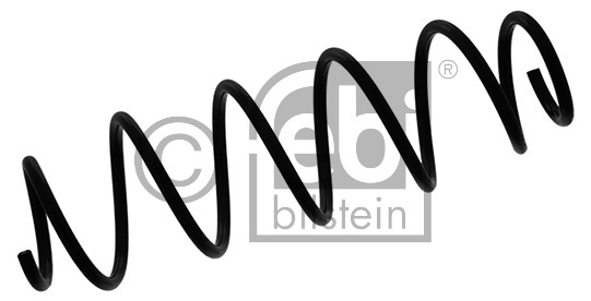 Ressort de suspension - FEBI BILSTEIN - 39711