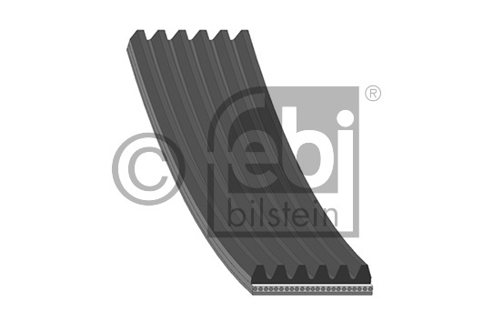 Courroie trapézoïdale à nervures - FEBI BILSTEIN - 39797
