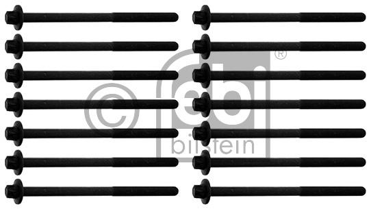 Jeu de boulons de culasse de cylindre - FEBI BILSTEIN - 39806