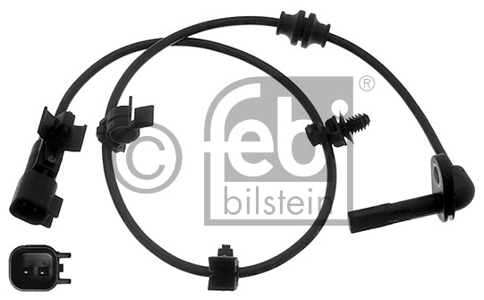 Capteur, vitesse de roue - FEBI BILSTEIN - 40476