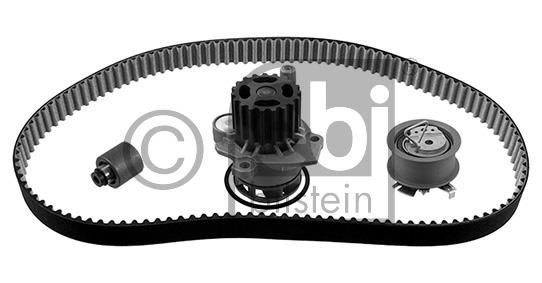 Pompe à eau + kit de courroie de distribution - FEBI BILSTEIN - 40618