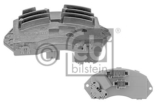 Appareil de commande, chauffage/ventilation - FEBI BILSTEIN - 43440