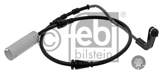 Contact d'avertissement, usure des garnitures de frein - FEBI BILSTEIN - 44335