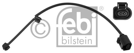 Contact d'avertissement, usure des garnitures de frein - FEBI BILSTEIN - 44554