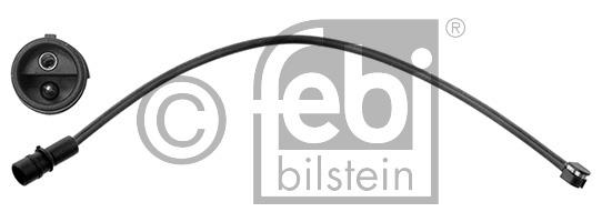 Contact d'avertissement, usure des garnitures de frein - FEBI BILSTEIN - 44650